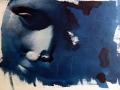 in dem sanften blauen Strom, Cyanotypie, A4