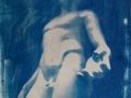 in die Welt der Träume zurückkehren, Cyanotypie, A4