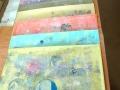 Serigrafie-Serie bubbles, Variationsauflage I-XII