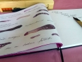 Künstlerbuch in progress wenn ich kein kopfkissen hätte 2