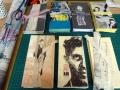 Künstlerfaltbücher mit festen Deckeln und  Arbeitstexten 1