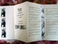 Künstlerfaltbuch Nietzsche 2 mit festen Deckeln und Arbeitstexten