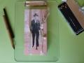 Künstlerfaltbuch Pessoa 1 mit festen Deckeln und Arbeitstexten
