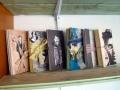 Künstlerfaltbücher mit festen Deckeln und Arbeitstexten 2