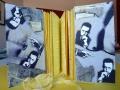 Künstlerfaltbuch Camus 1 mit festen Deckeln und Arbeitstexten