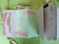 Künstlerfaltbuch Pessoa 2 mit festen Deckeln und Arbeitstexten