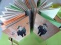 Künstlerfaltbuch Pessoa 3 mit festen Deckeln und Arbeitstexten
