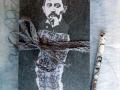 Künstlerfaltbuch Proust 1 mit festen Deckeln und Arbeitstexten