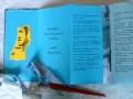 Künstlerfaltbuch Södergran 2 mit festen Deckeln und Arbeitstexten