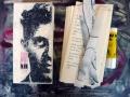 Künstlerfaltbuch Wittgenstein 1 mit festen Deckeln und Arbeitstexten
