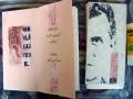Künstlerfaltbuch Wittgenstein 2 mit festen Deckeln und Arbeitstexten